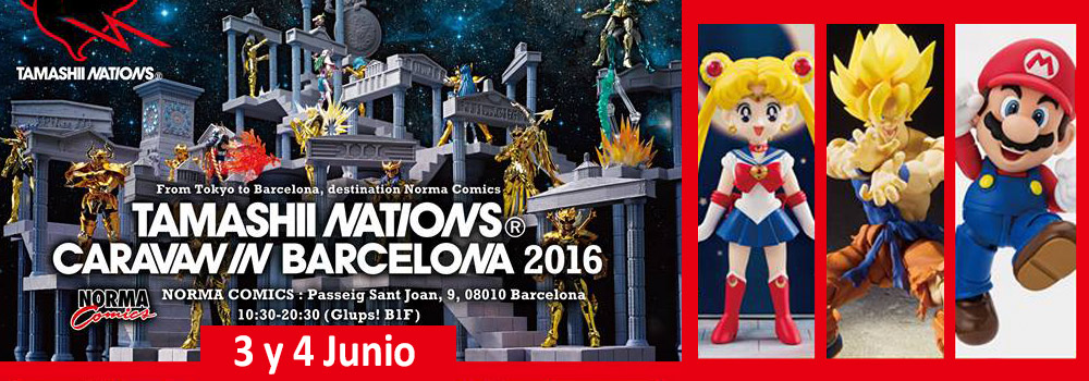 TAMASHII NATIONS EN BARCELONA