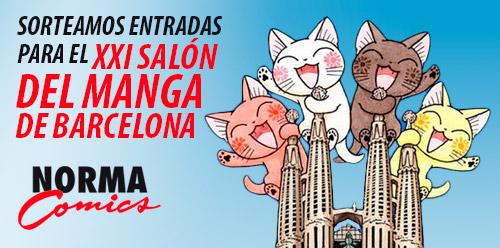 Ganadores del sorteo de 40 entradas para el XXI Salón del Manga de Barcelona