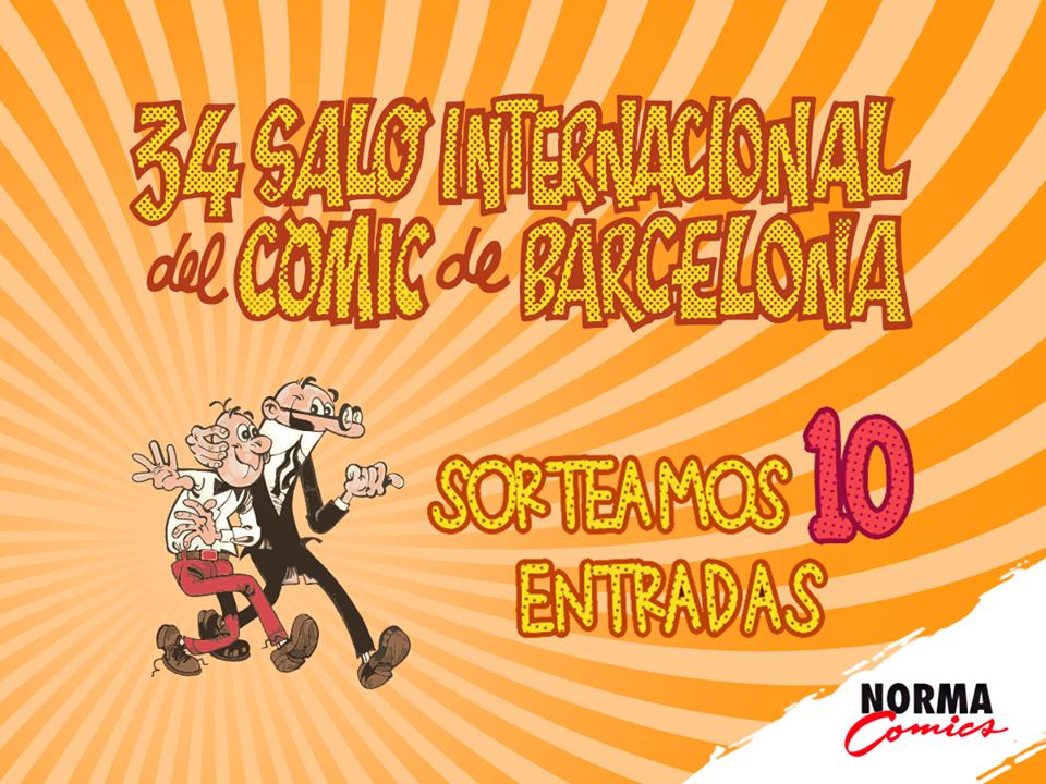 Hazte con una de las 10 entradas que sorteamos para el Salón del Cómic de Barcelona [CERRADO]