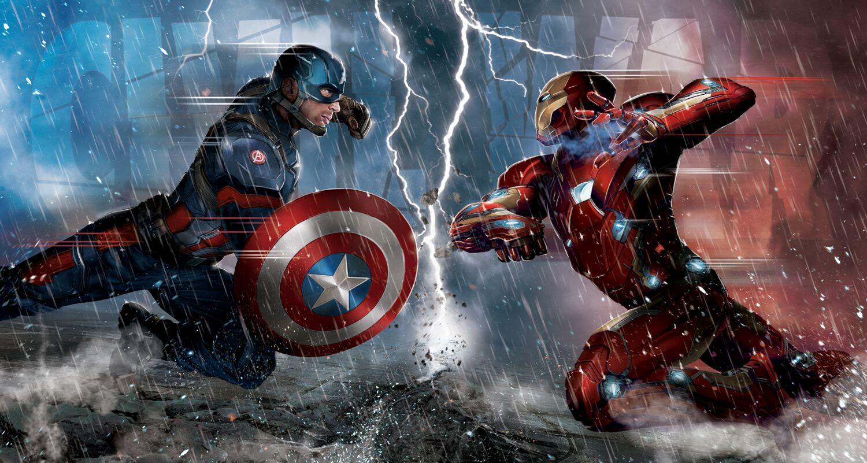 Esperando el estreno de Civil War