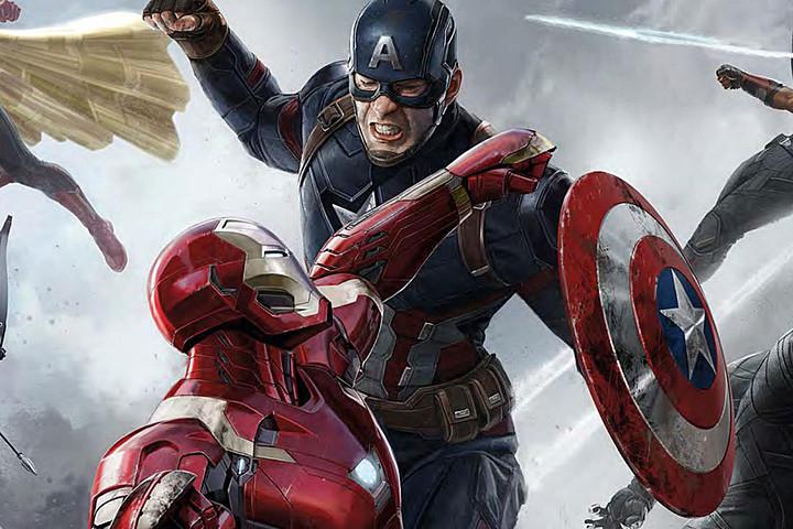 Esperando el estreno de Civil War 4