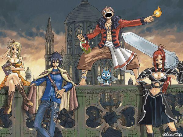 El éxito de Fairy Tail 4