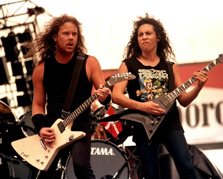 Metallica. Back to the Front