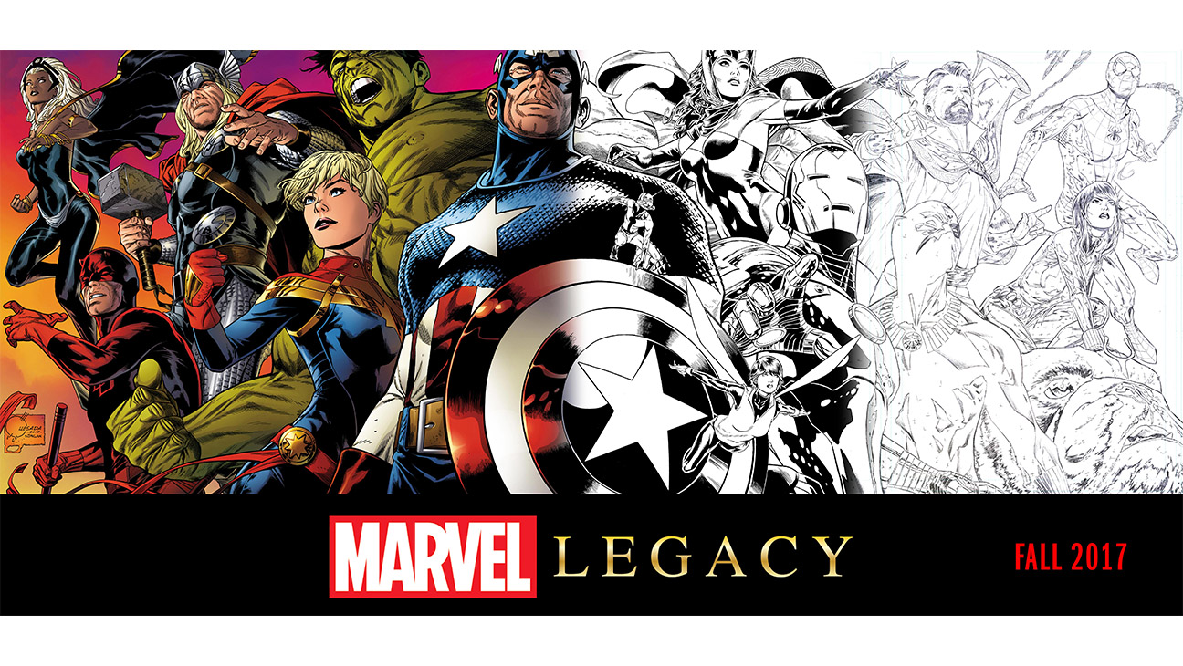 MARVEL COMICS REVELA SU PLAN EDITORIAL PARA MARVEL LEGACY