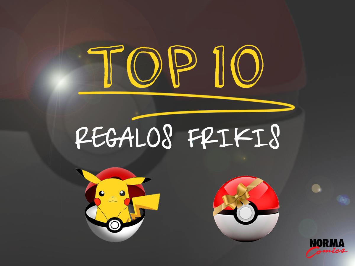 TOP 10 REGALOS FRIKIS