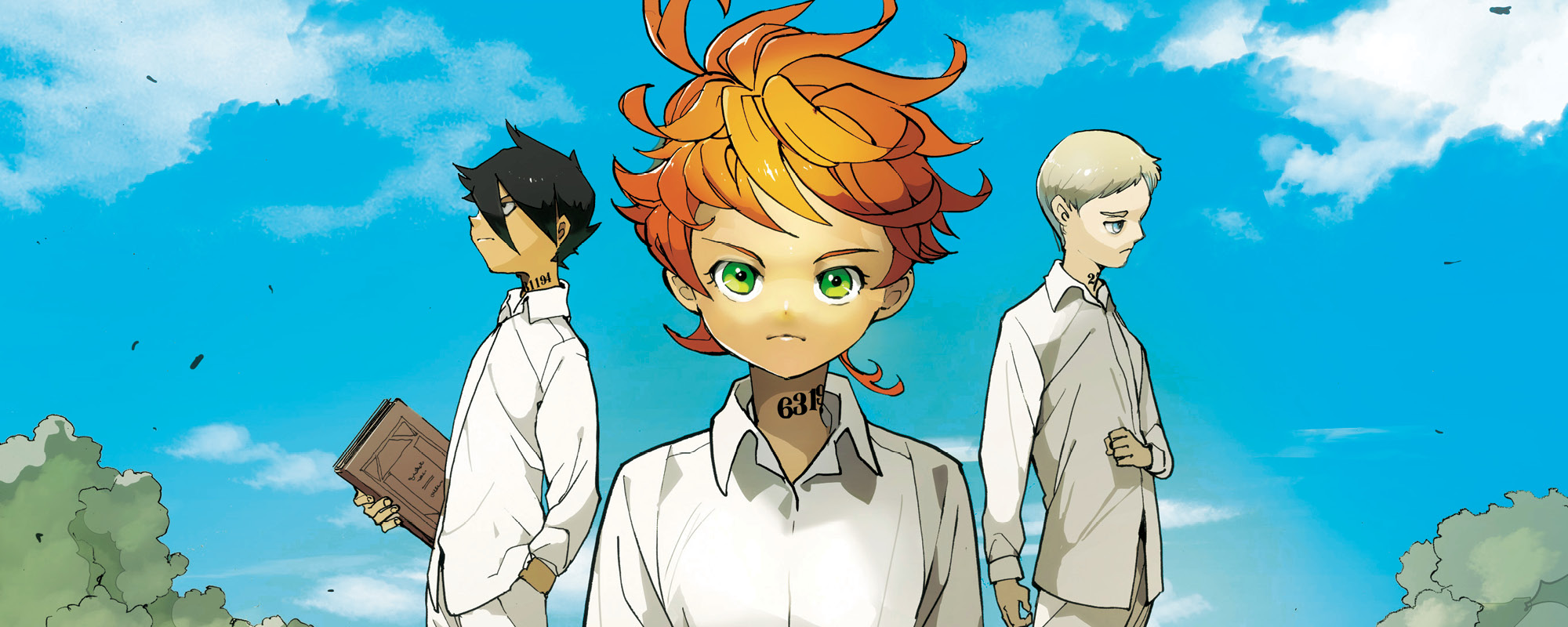 The promised Neverland. ¿Qué sabemos sobre Emma, Norman y Ray?