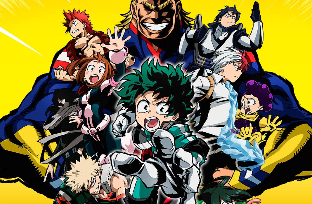 My Hero Academia llega a Netflix